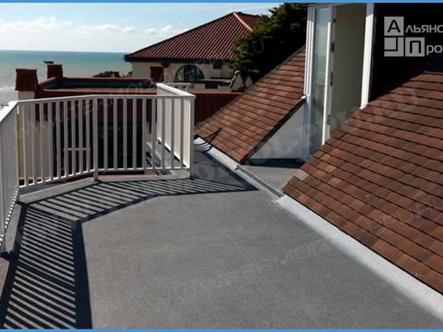 Балконы и террасы, смотровые площадки