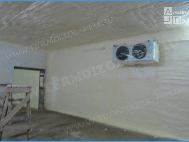 Теплоизоляции холодильных камер